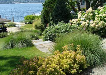 Mercer Island Waterfront Garden